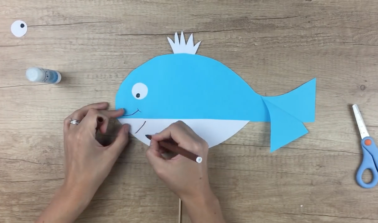 df179ca469 Tvoríme s deťmi  Veľryba Kornélia - Blog - Morský Koník