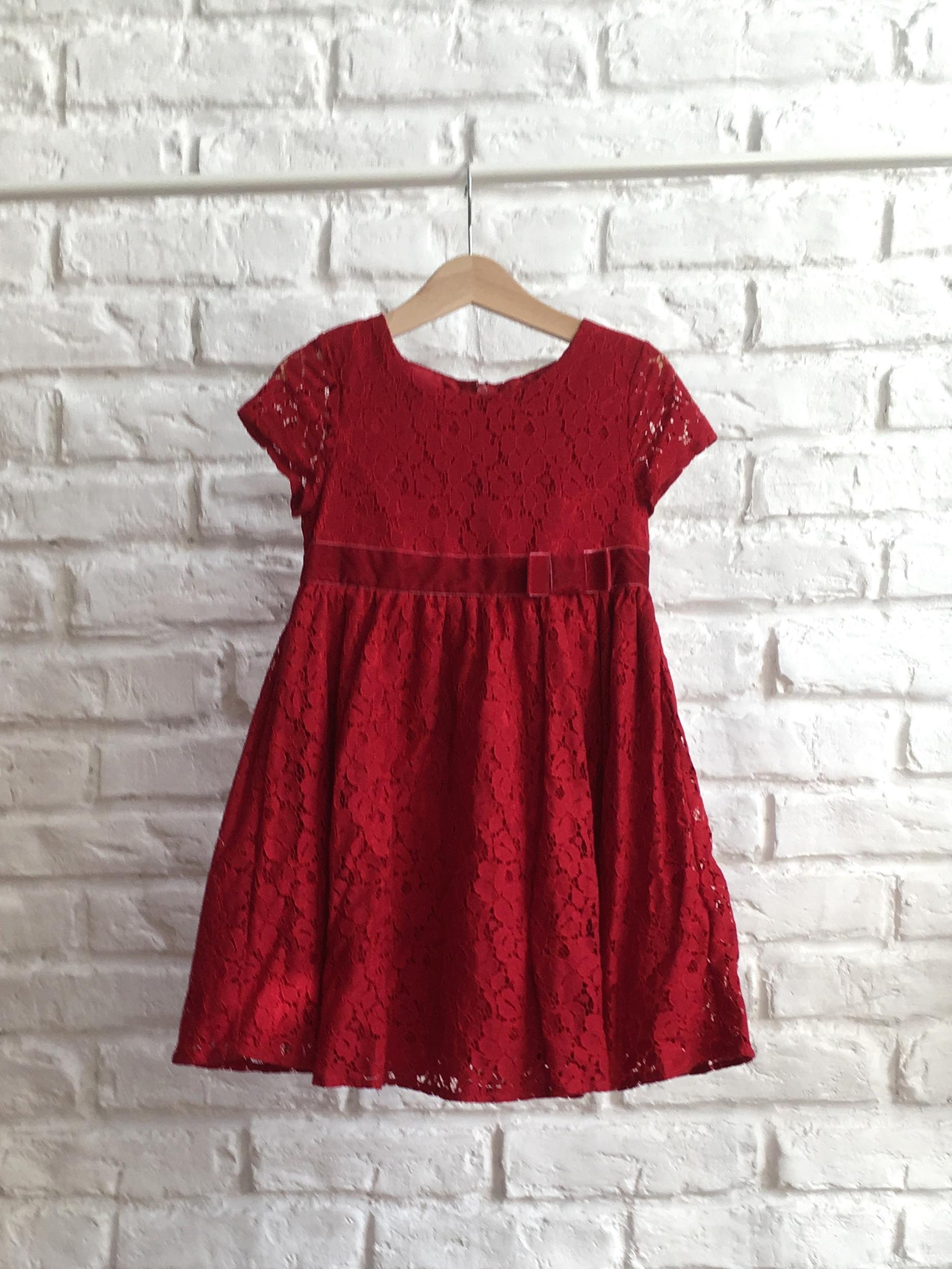 c7d5c91c9c Červené čipkované šaty Lindex - Bazár Veronika - Morský Koník