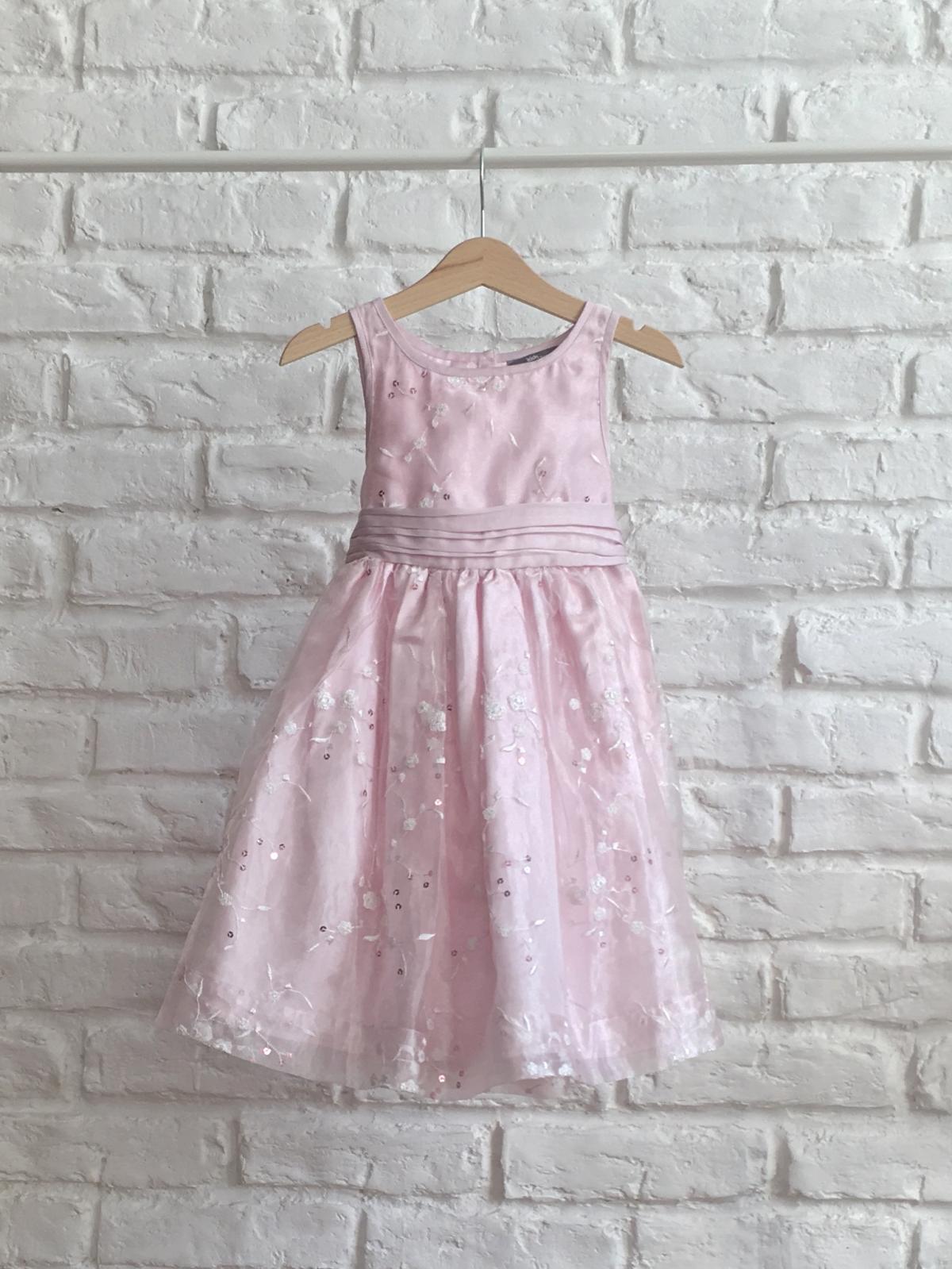 36d69c5475 Ružové dievčenské šaty - Bazár Veronika - Morský Koník