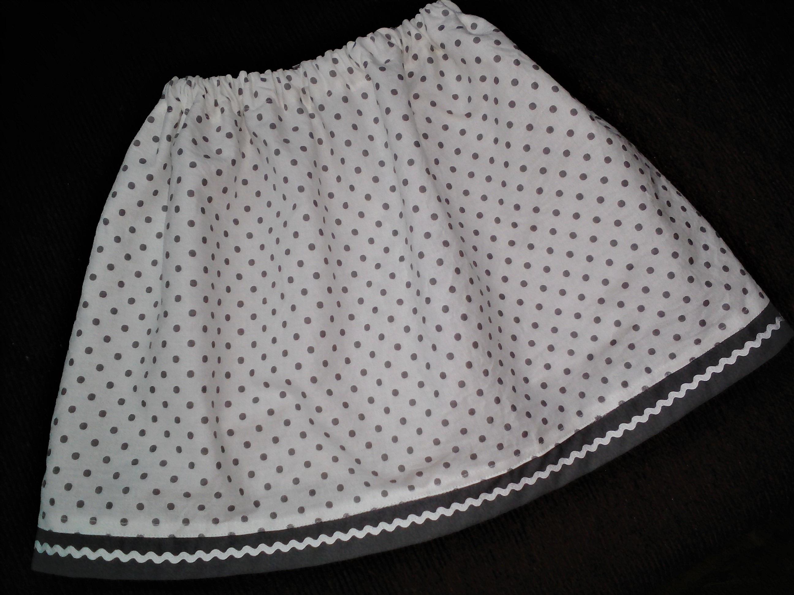 e59f76fef263 Bodkovaná detská sukňa - Handmade Viktória Pastíriková - Morský Koník