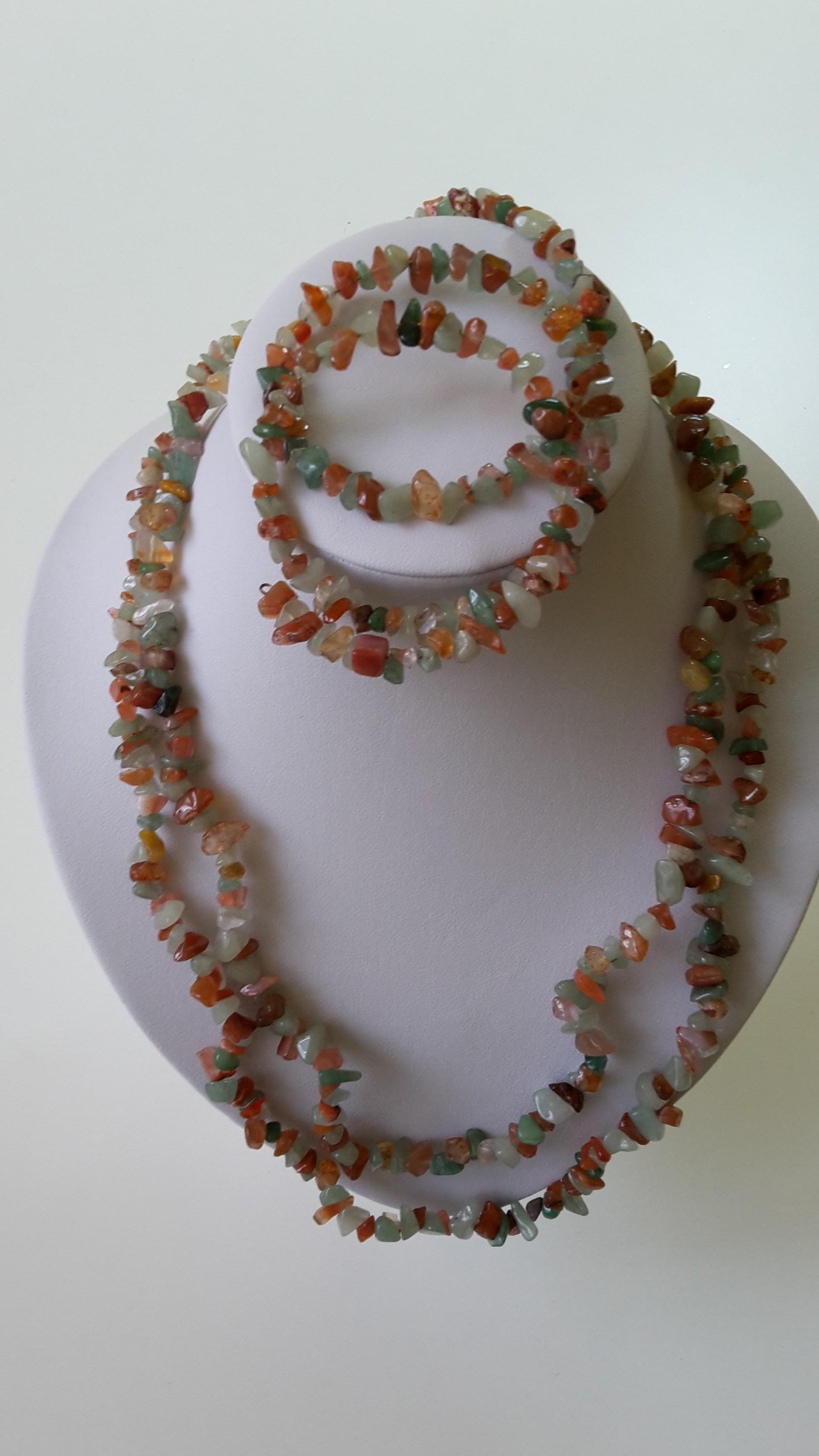 efe1da038 Dvojradový náhrdelník s náramkom - Handmade Zuzana Valachová ...